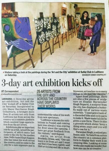 3-day art exhibition kicks off