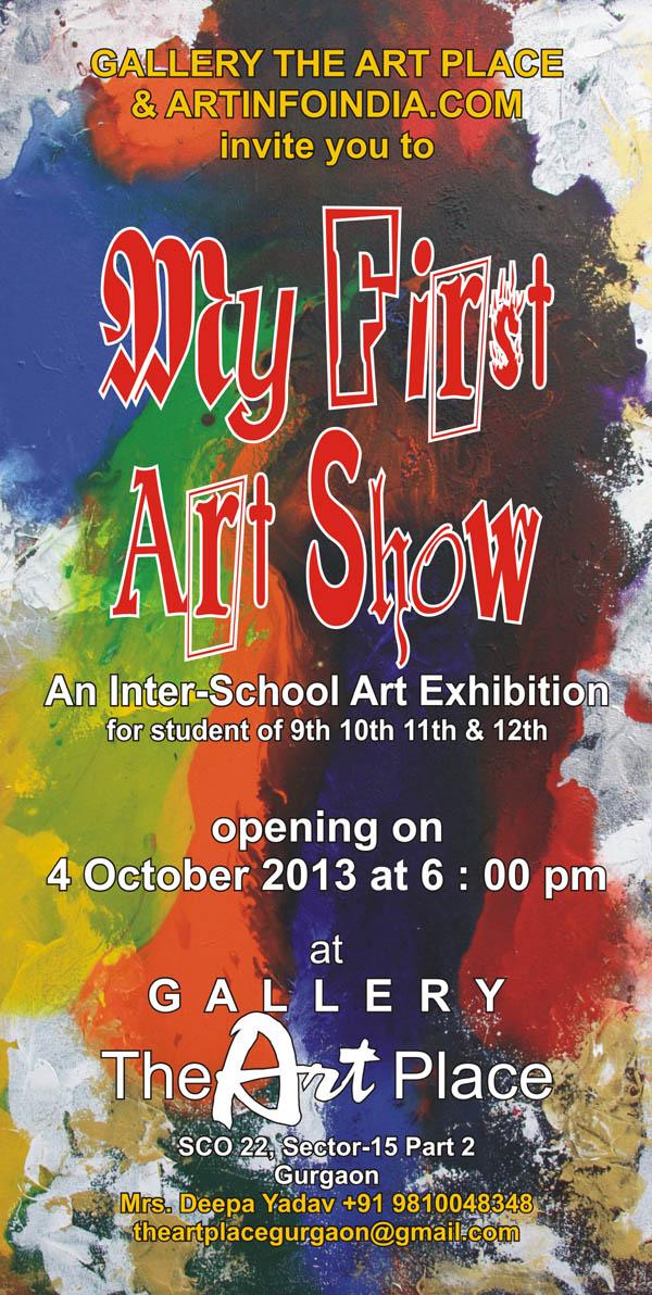 My First Art Show