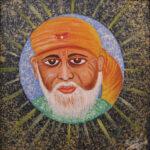 12) Kamal Sharma I Sai Baba I Acrylic on Canvas I 12x12 Inches