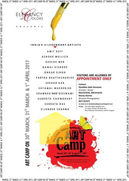 The Little Yellow Butterfly Art Camp