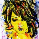 Pankaj Kumar Saxena Poison Ivy Acrylic on Canvas 27 x 38 Inches