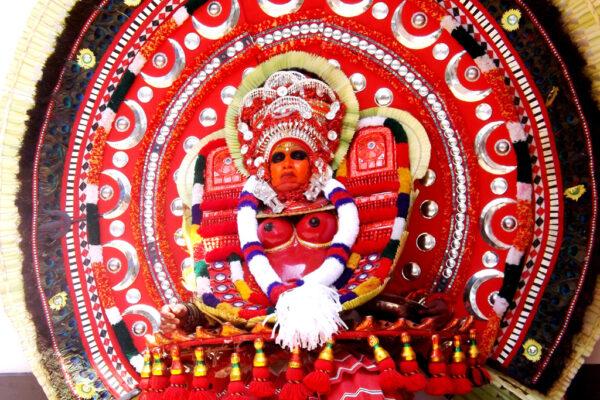2018 WP 18 Pramod Aduthila 3 Theyyam Ritual Arts