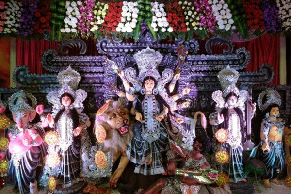 2018 WP 18 Shalini Singh 01 Durga Pooja Bangalore