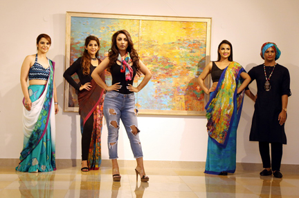 Khwabeeda – Solo Painting Exhibition and Wearable Art Moving Installations by Nandita Richie