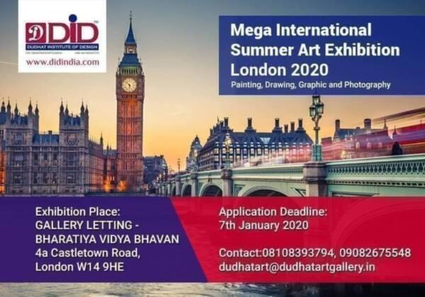 Mega International Summer Art Exhibition, London 2020