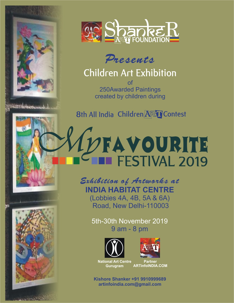 Shanker Art Foundation unveils Children Art Exhibition 'My Favourite Festival 2019'
