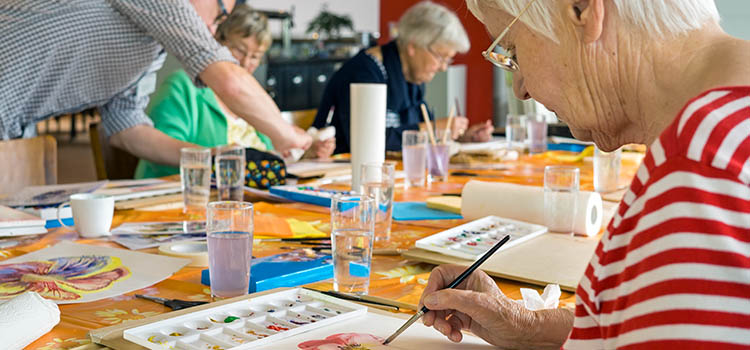 Senior Citizens, Art Therapy and other Mind-Engaging Activities