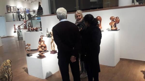 K K Kamra's Sculptures in Wood & Metal